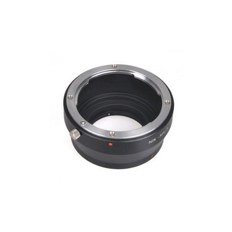 Kiwifotos Adaptador Micro 4/3 a Nikon