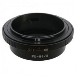 Kiwifotos Adaptador Micro 4/3 a Canon FD