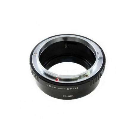 Kiwifotos Adaptador Sony Nex a Canon FD