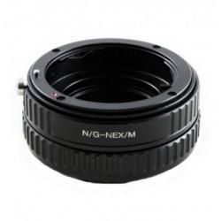 Kiwifotos Adaptador Sony Nex a Nikon G