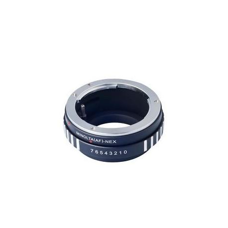Kiwifotos Adaptador Sony Nex a Minolta AF