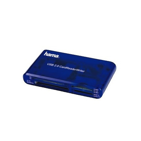 HAMA Lector de tarjetas 35 en 1 USB 2.0