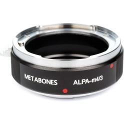 Metabones Adaptador Micro 4/3 a Alpa