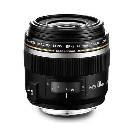 Canon 60mm f2.8 EFS USM Macro
