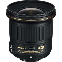 Nikon 20mm f1.8 G AF