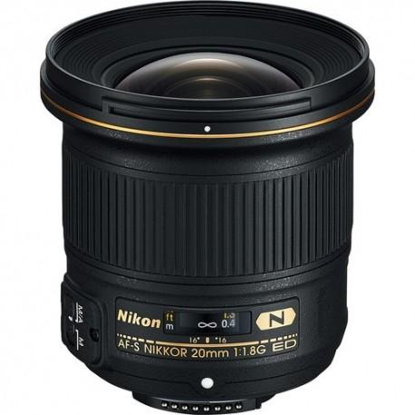 Objetivo Nikon 20mm f1.8 G AF